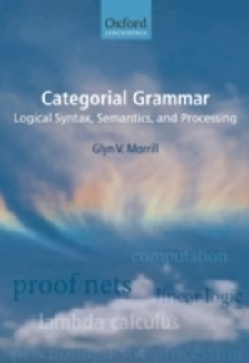(ebook) Categorial Grammar