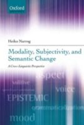 (ebook) Modality, Subjectivity, and Semantic Change