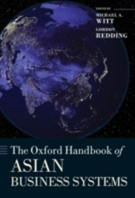 Oxford Handbook of Asian Business Systems