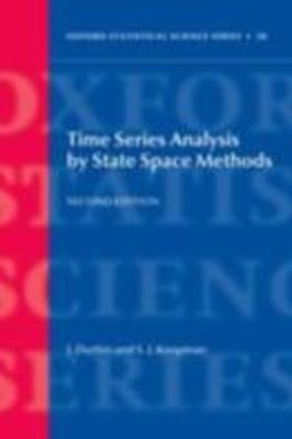 (ebook) Time Series Analysis by State Space Methods: Second Edition