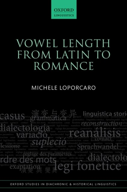 (ebook) Vowel Length From Latin to Romance