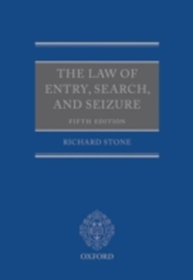 (ebook) Law of Entry, Search, and Seizure