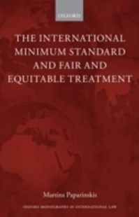 (ebook) International Minimum Standard and Fair and Equitable Treatment - Business & Finance Finance & investing