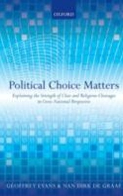 Political Choice Matters: Explaining the Strength of Class and Religious Cleavages in Cross-Nationa