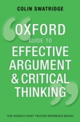 (ebook) Oxford Guide to Effective Argument and Critical Thinking