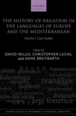 (ebook) History of Negation in the Languages of Europe and the Mediterranean