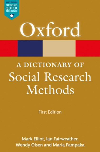 Dictionary of Social Research Methods