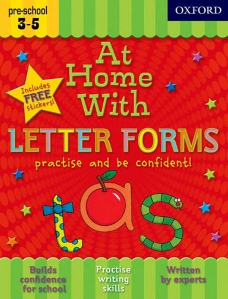 At Home With Letter Forms Practise and Be Confident!