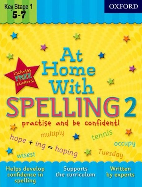 At Home With Spelling 2 Practise and Be Confident!
