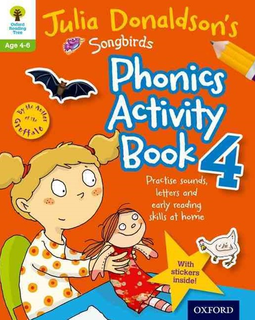 Oxford Reading Tree Songbirds Phonics Activity Book 4