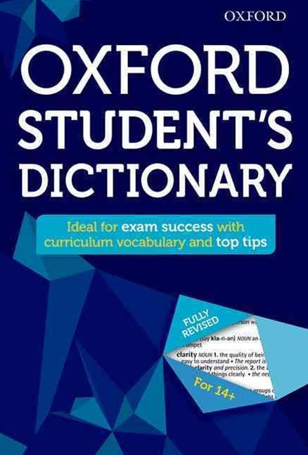 Oxford Student's Dictionary 2016