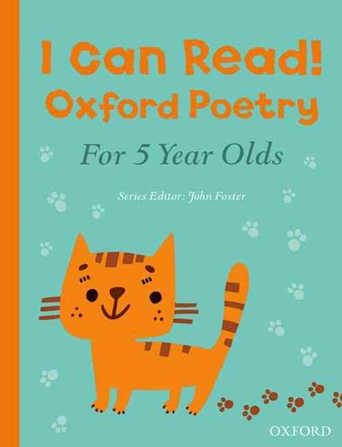 I Can Read! Oxford Poetry for 5 Year Olds