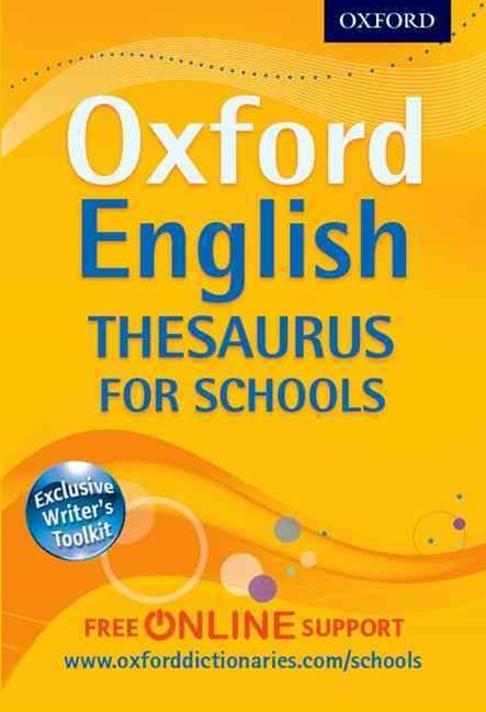 Oxford English Thesaurus for Schools 2012