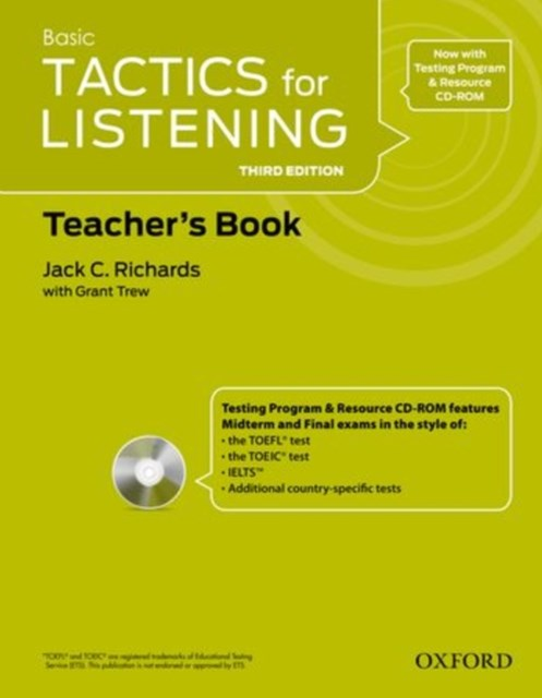 Basic Tactics for Listening Teacher Resource Pack