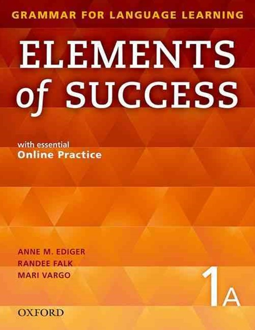 Elements of Success Student Book 1A