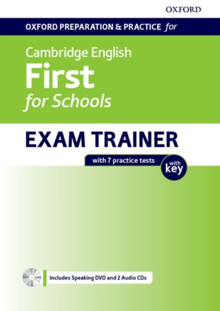 Oxford Preparation & Practice for Cambridge English: First for Schools: Student's Book Pack with Key