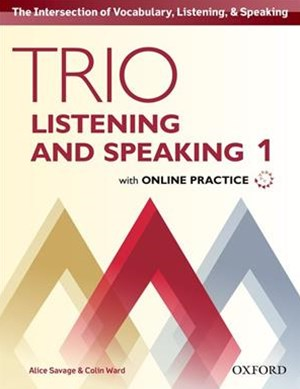 Trio Listening and Speaking: Level One Student's Book and Online Practice Pack