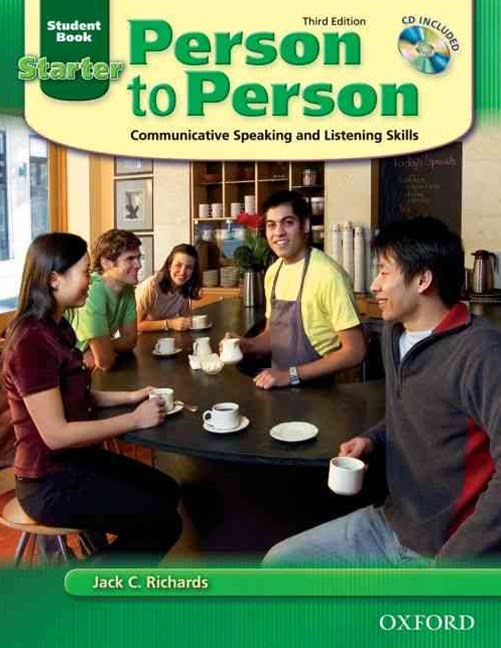 Person to Person Starter Student Book (with Student Audio CD)