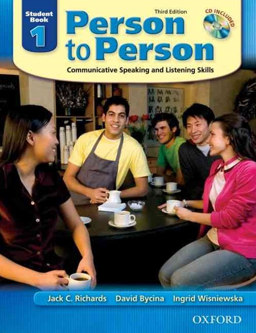 Person to Person Level 1 Student Book (with Student Audio CD)