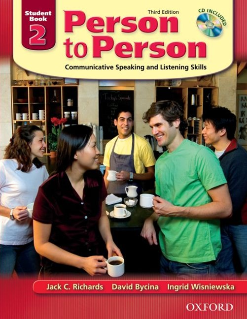 Person to Person Level 2 Student Book (with Student Audio CD)