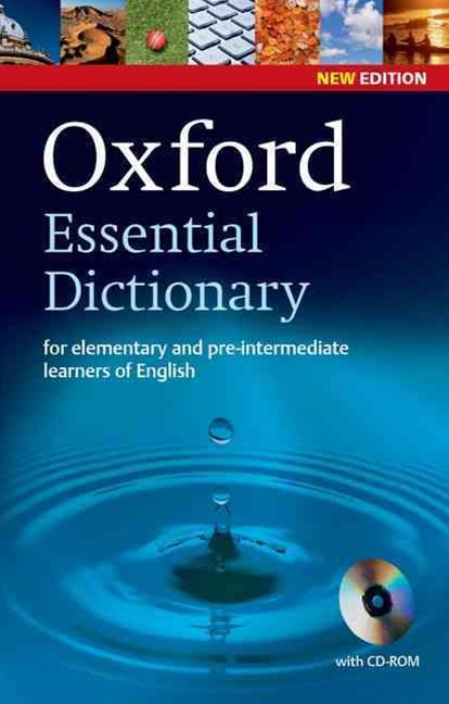 Oxford Essential Dictionary with CD ROM