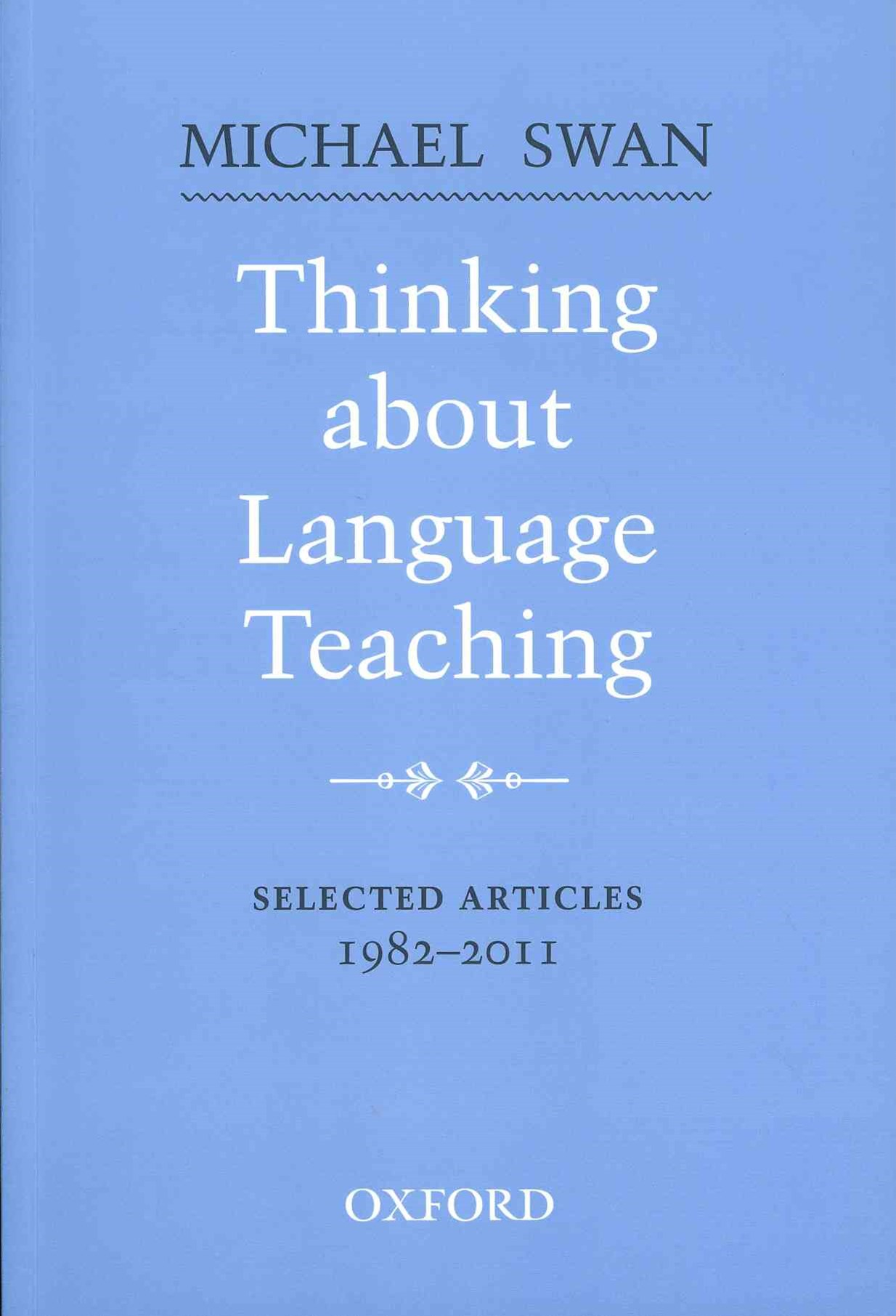 Thinking about Language Teaching