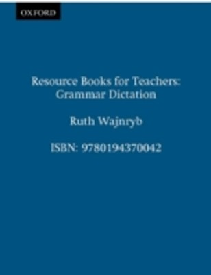 Grammar Dictation - Resource Books for Teachers