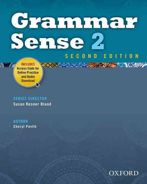 Grammar Sense 2 Student Book with Online Practice Access Code Card