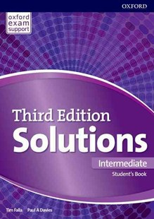 Solutions Intermediate Students Book by Paul Davies, Tim Falla (9780194504492) - PaperBack - Language English
