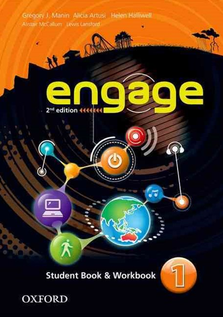 Engage Level 1 Student Book and Workbook with MultiROM