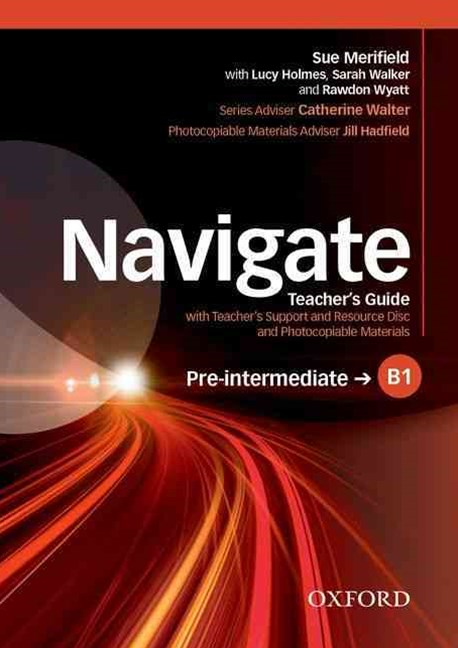 Navigate Pre-intermediate B1 Teacher's Support and Resource Disc