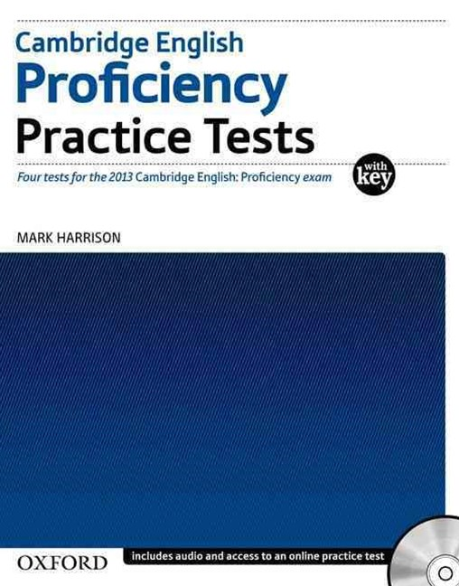 Cambridge English: Proficiency Practice Tests with Key and Audio CDs Pack