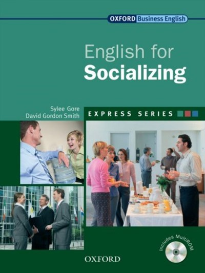 English for Socialising Students Book and Multi-ROM