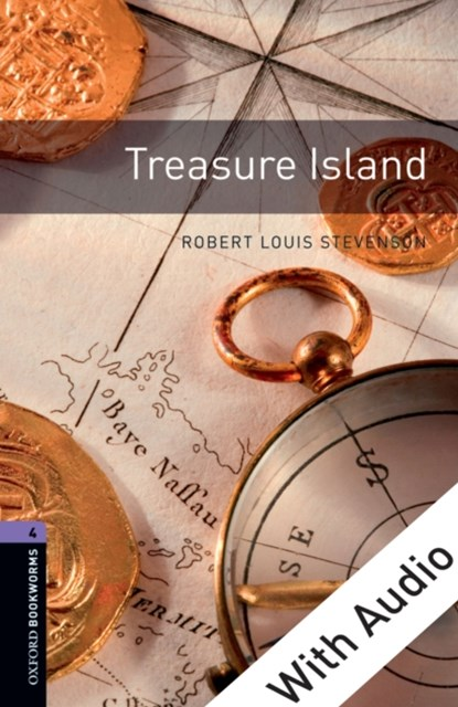(ebook) Treasure Island - With Audio Level 4 Oxford Bookworms Library