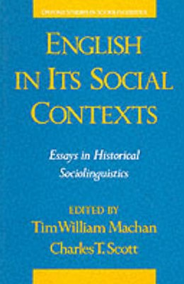 English in Its Social Contexts