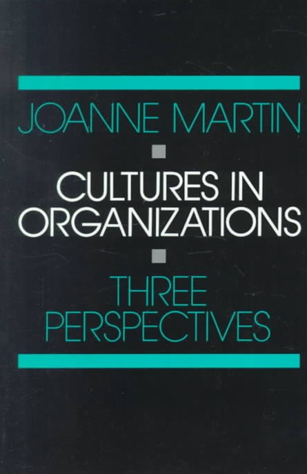 Cultures in Organizations