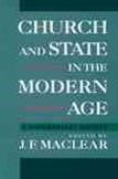 Church and State in the Modern Age