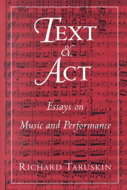 Text and Act