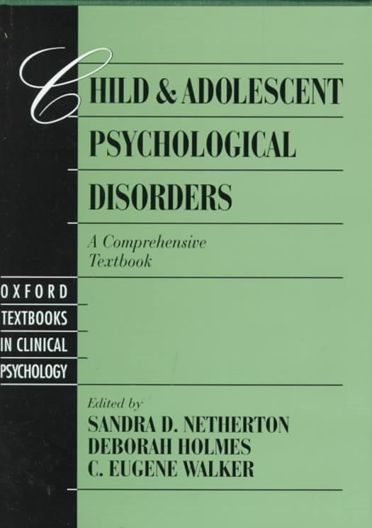 Child and Adolescent Psychological Disorders