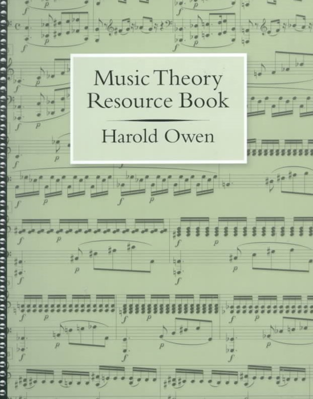 Music Theory Resource Book
