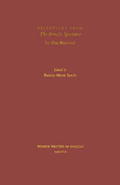 (ebook) Selections from The Female Spectator