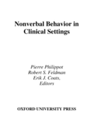 Nonverbal Behavior in Clinical Settings