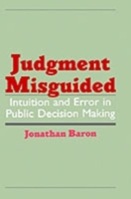 (ebook) Judgment Misguided