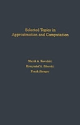 (ebook) Selected Topics in Approximation and Computation
