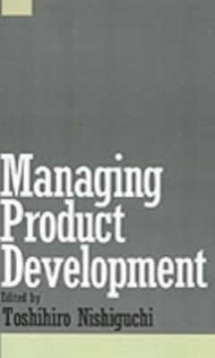 (ebook) Managing Product Development