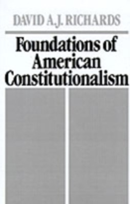 Foundations of American Constitutionalism
