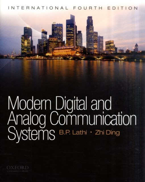 Modern Digital and Analog Communications Systems International