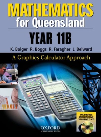 Mathematics for Queensland Year 11B + CD
