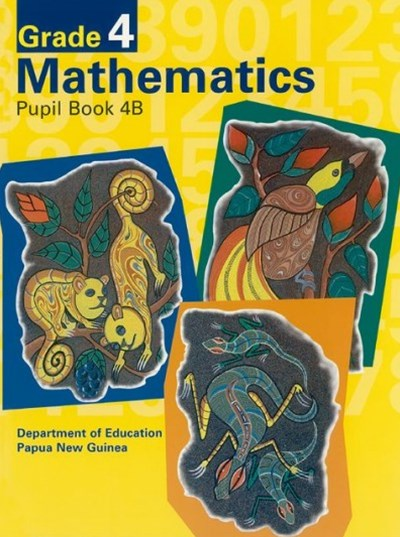 G4 Mathematics Pupil Book 4B   Bookseller Edition