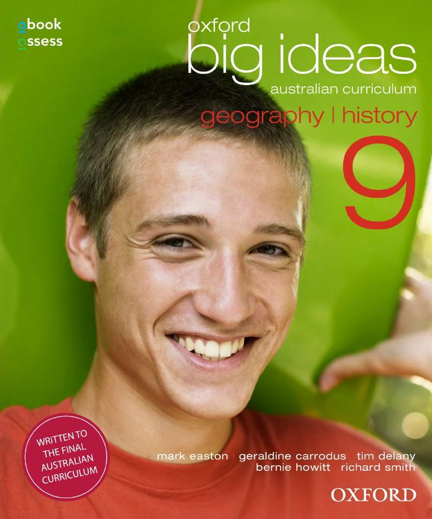 Oxford Big Ideas Geography/History 9 AC Student book + obook assess